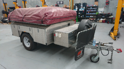 2013 MDC soft floor camper trailer Grovedale Geelong City Preview