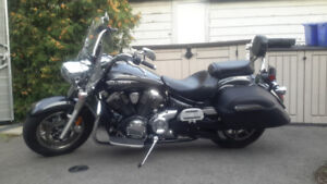 2012 Yamaha 1300 V-Star touring