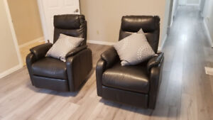 PAIR OF  GREAT RECLINERS $90 each