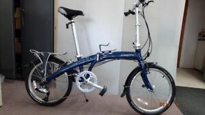 Dahon  MU P24  vélo pliable ,  aluminum  24 vitesses .660$.