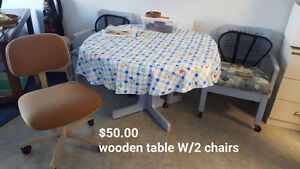 Kitchen table & chairs(OBO)