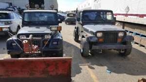 Two Jeeps for sale (Renegade and Yj