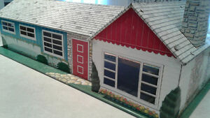 Vintage Tin Doll House