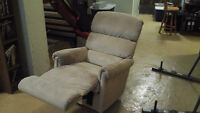 Recliner loveseat, recliner and chaise lounge for sale!