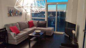 Fully furnished Stunning 1 Bedroom Suite