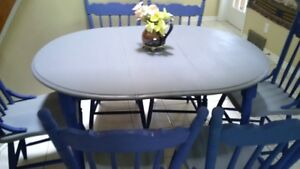Dinning table set 6 chairs