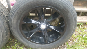 20 inch 6 bolt chev gmc rims on tires