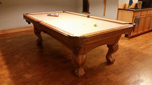 Old World Traditions Slate Pool Table