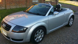 Audi TT Roadster 1.8 Roadster 2006 Superb Car with histor, low insurance model!!