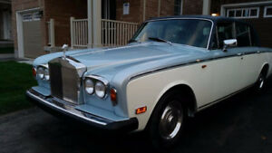 1974 Rolls Royce silver shadow long wheelbase