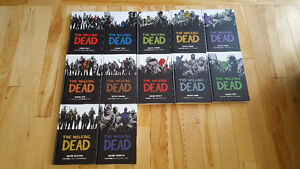 Walking Dead #1-12 Hardcover NM