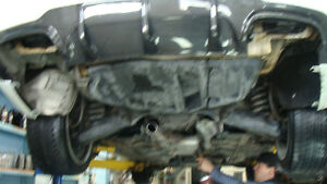 MB C250 Resonator muffler Bypass ,quad tips ,Magnaflow Y Pipe
