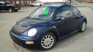 2004 Volkswagen Beetle. 30 day warranty on engine/transmission