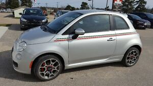 **Certified** 2012 Fiat 500 Sport Coupe (2 door)