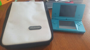 Nintendo DSi (Baby Blue) W/ Charger and Case