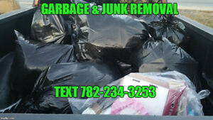 Garbage and Junk removal services HRM - TEXT 782-234-3253