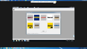 Diagnostic and trouble shooting software diesel equipment