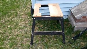 tablesaw/jointer stand