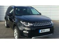 2016 Land Rover Discovery 2.0 TD4 180 HSE 5dr SUV diesel Manual
