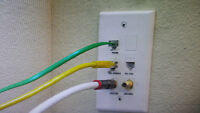 NETWORK WIRING, CABLE WIRING, PHONE WIRING, HOME-WIRING