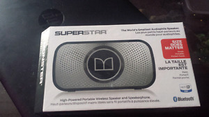 Monster speaker/speakerphone
