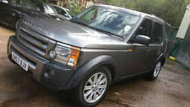 Land Rover Discovery 3 2.7TD V6 auto 2008MY XS ENGINE SEIZED