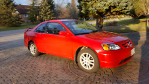FOR SALE 2003 HONDA CIVIC SI WITH SNOW TIRES ON RIMS