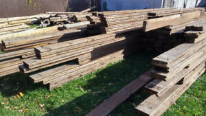 Bois grange, madrier BCFIR / Barnwood / Beam up to 22ft