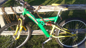Trax bicycle