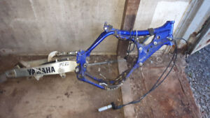 2005 Yamaha Yz450f parts, engine, frame, swingarm, exhaust etc