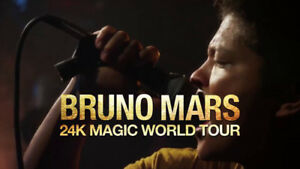 Bruno Mars : 24K Magic World Tour - Section 103 (2 Tickets)