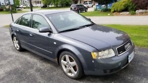AUDI A4 2004 FOR SALE - GOOD RUNNING CONDITION