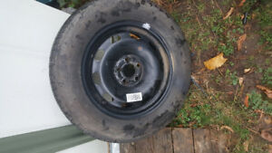 Brand new 195 65 15 tire on 04  vw jetta rim