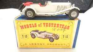 MATCHBOX MODELS OF YESTERYEAR Y10 1928 MERCEDES 36/220 IN D1 TYP
