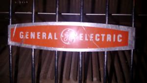 Vintage GE 1500 watt  heater - made in Canada