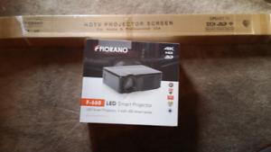 LED SMART Screen projector 4k HD 3D BRAND NEW IN BOX Fiorano