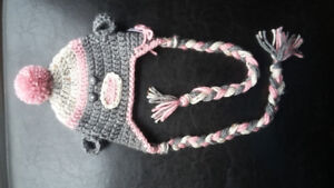 New born Sock Monkey hat