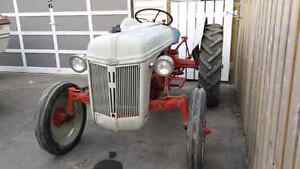 8N Ford tractor 1948