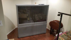 "FREE 60"" Philips Rear Projection TV"