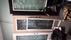clearance door with glass inserts $95 and up everything must go