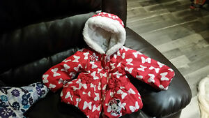 Minnie Mouse 12-18 month winter coat. London Ontario image 1