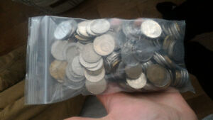 Big bag of unsorted world coins $30 OBO