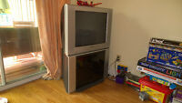 27 inch Sony Flat Screen TV for sale (with a free TV stand)