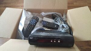 2 Bell satellite receivers complete with box