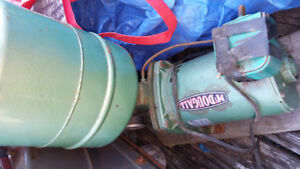 McDOUGALL SHALLOW WELL PUMP WITH AIRTANK GAUGE+SWITCH 50.00
