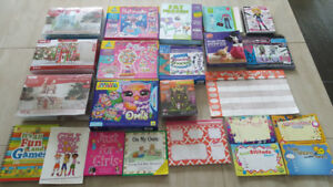 Craft/Art Kits, Books, Calendars, etc.