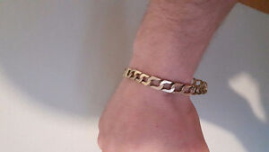 21 grams 10k men's gold bracelet