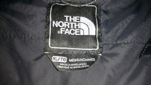 North Face Men black winter jacket