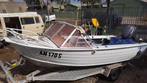 Savage boat