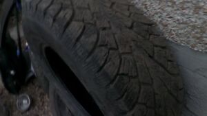Four 215/70/R15 Winter Tires Edmonton Edmonton Area image 2